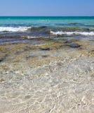 Baia Verde Beach near Gallipoli Royalty Free Stock Photos