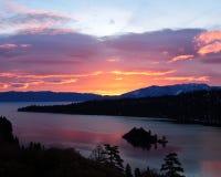 Baia verde smeraldo - Lake Tahoe Immagine Stock Libera da Diritti