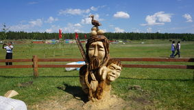 Baianai, Sakha yakutian bóg polowanie - zdjęcia stock