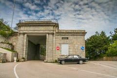 Baidar Gate near Laspi Royalty Free Stock Photos