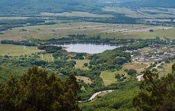 Baidarsky valley, Crimea Stock Image