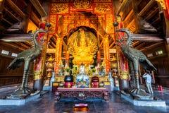 BAIDINH SPIRITUAL & TOURIST COMPLEX, NINHBINH, VIETNAM - NOVEMBER 23, 2014 - View of the Complex entrance. Stock Photos