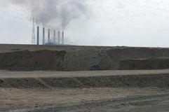 Baidschi-Kraftwerk Stockfoto