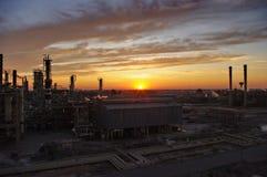 Baidschi-Raffinerie Stockfotos