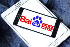 Baidu logo Royalty Free Stock Image