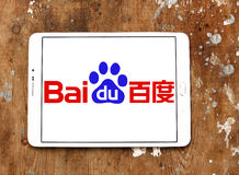 Baidu logo Royalty Free Stock Photography