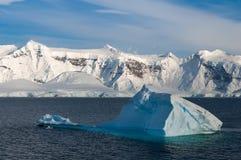 Baie Antarctique de paradis Images libres de droits