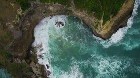 Baie Barbade d'archers de vue d'Aerilal Image stock