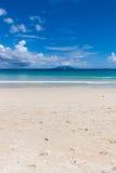 Baie Beau Vallon Beach em Seychelles Foto de Stock Royalty Free