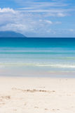 Baie Beau Vallon Beach in Seychelles Royalty Free Stock Images