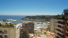 Baie chez le Monaco, Cote D'Azur France banque de vidéos