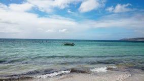 Baie d'émeu de vue d'océan @, Australie Photos stock