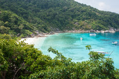Baie d'île de Similan Photos libres de droits