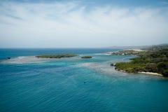 Baie d'acajou, Roatan, Honduras Photo stock