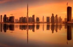 Baie d'affaires de Dubaï, EAU Photos stock