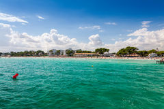 Baie d'Alcudia Images stock