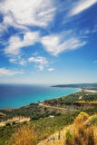 Baie d'Alykes, île de Zakynthos Image libre de droits