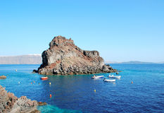Baie d'Amoudi Images stock