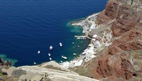 Baie d'Amoudi Image libre de droits