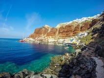 Baie d'Amoudi Images libres de droits