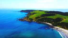 Baie d'ancre, Nouvelle-Zélande Photographie stock