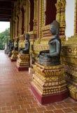 Baie d'aubépine de visite Phra Kaew, également écrit comme Ho Prakeo à Vientiane, le Laos photos libres de droits