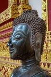 Baie d'aubépine de visite Phra Kaew, également écrit comme Ho Prakeo à Vientiane, le Laos images libres de droits