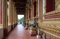 Baie d'aubépine de visite Phra Kaew, également écrit comme Ho Prakeo à Vientiane, le Laos image stock