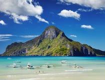 Baie d'EL Nido, Philippines image stock