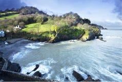 Baie d'Exmoor de roche Photo libre de droits