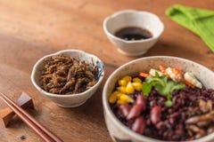 Baie d'insecte et de riz photo stock