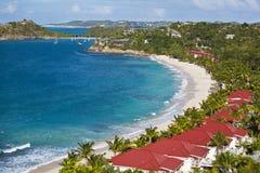 Baie d'office, Antigua photos stock