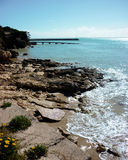 Baie dans l'Australie du sud de robe longue Photographie stock libre de droits