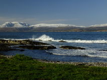 Baie de Bantry regardant vers Bearra Images stock