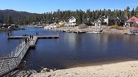 Baie de Boulder, Big Bear Lake, la Californie clips vidéos