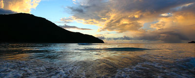 Baie de brasseurs de Tortola BVI Photos stock