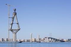 Baie de Cadix, Espagne image libre de droits