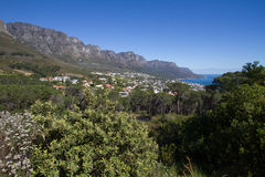 Baie de camps, Cape Town Images stock