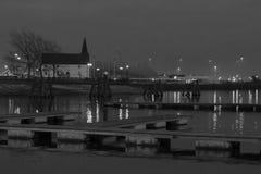 Baie de Cardiff photo stock