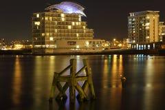 Baie de Cardiff Photographie stock libre de droits