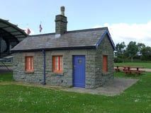 Baie de Cardiff de cottage de gardiens de serrure Photo libre de droits