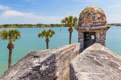 Baie de Castillo et de Matanzas Photos stock