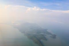 Baie de Chalong, Phuket, Thaïlande Images stock