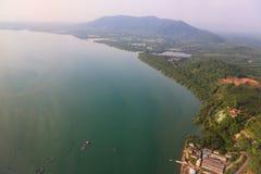 Baie de Chalong, Phuket, Thaïlande Images libres de droits