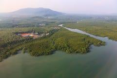 Baie de Chalong, Phuket, Thaïlande Image libre de droits