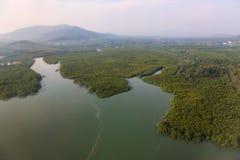 Baie de Chalong, Phuket, Thaïlande Image stock