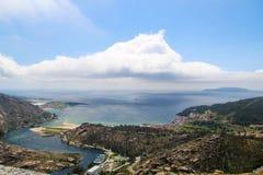 Baie de ciel et de mer Images libres de droits