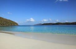 Baie de Coki à St Thomas image stock