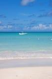 Baie de Dickenson, Antigua Photos stock