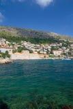 Baie de Dubrovnik Images stock
